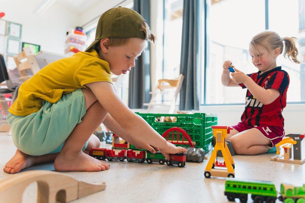 Når barn ikke kan være ute i barnehagetiden
